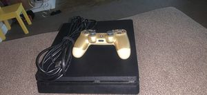 Ps4 1TB with gold controller (and 2 games) for Sale in Reynoldsburg, OH