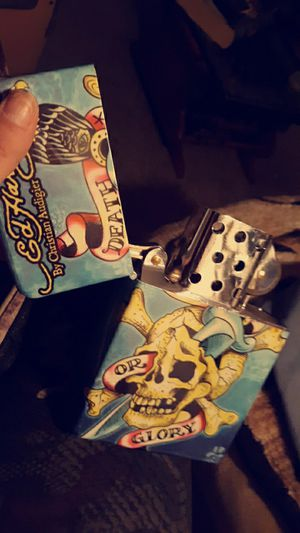 Ed Hardy zippo death or glory lighter for Sale in Thornton, CO