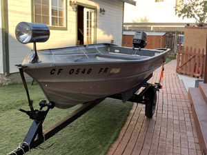 14FT VALCO FISHING BOAT for Sale in San Diego, CA