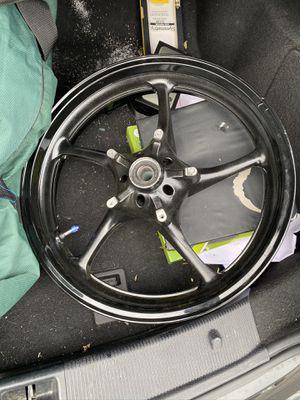 Black R6 front rim for Sale in Suffield, CT