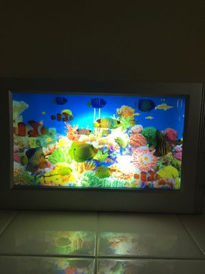 Light up fish tank for Sale in Murrieta, CA
