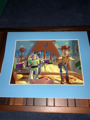 Vintage DISNEY Exclusive Commemorative Lithograph - 1996 TOY STORY for Sale in Beaverton, OR