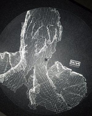 Nine Inch Nails Geometric Man slipmat & 8 cd bundle for Sale in Corona, CA