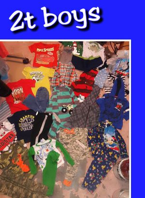 Boys toddler 2t clothing lot for Sale in Tulsa, OK