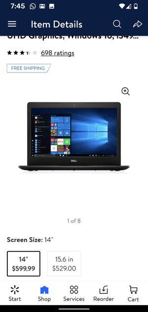 Laptop Dell New , Intel core i3 de última Generacion, ssd 128 GB y 4 GB de ram for Sale in Buford, GA