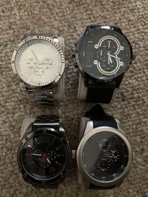 Men's BIG face watches for Sale in Petersburg, VA