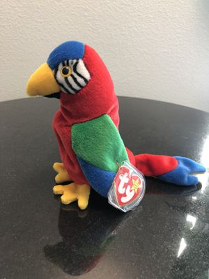 Jabber beanie baby 1997 1998 Rare with errors for Sale in Ontario, CA