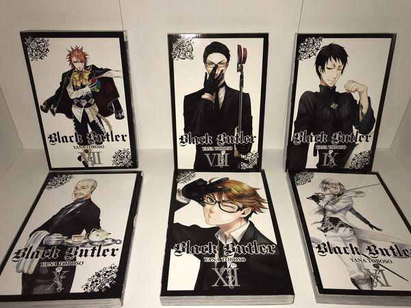 Black Butler Manga 1-12