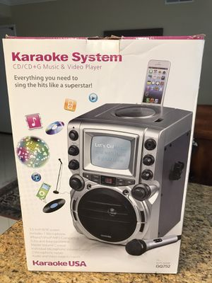 "Karaoke System with 4.3"" Screen by Karaoke USA for Sale in Laguna Niguel, CA"