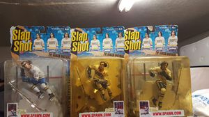Hockey figures 3 Hanson brothers for Sale in Ceres, CA