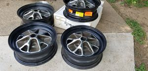 "60's mustang wheels 14"" deluxe for Sale in Fort Worth, TX"
