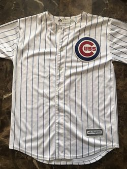 MLB Chicago Cubs Javier Baez #9 Baseball Jersey Youth Size L (14-16) for Sale in Carpentersville,  IL