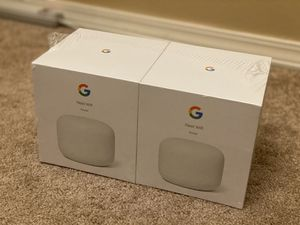 Google Nest WiFi Router 2-pack for Sale in Redmond, WA