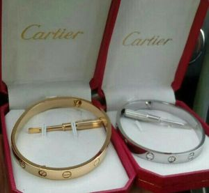 Cartier love bracelet (gold or silver) for Sale in Silver Spring, MD