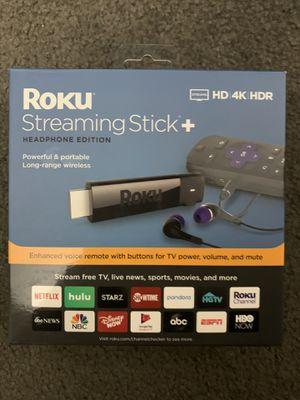 Roku StreamingStick+ HD 4K HDR for Sale in Arlington, VA