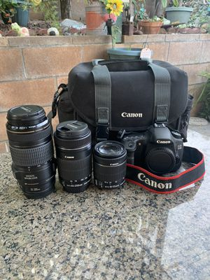 Canon 60d Digital SLR camera for Sale in Whittier, CA