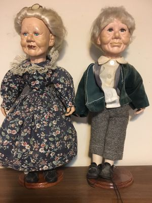 Antique grandparent dolls for Sale in Montpelier, MD