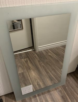 Wall mounted bathroom mirror for Sale in San Diego, CA