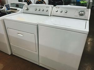 💞Whirlpool Washer and dryer set💞🤩NO CREDIT NEEDED to purchase appliances 🥳 for Sale in Huntington Park, CA