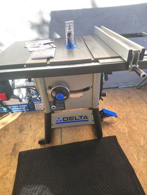 Delta Contractors Table Saw Brand new just assembled for Sale in Las Vegas, NV