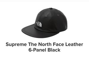 Supreme North Face Black Hat for Sale in Los Angeles, CA