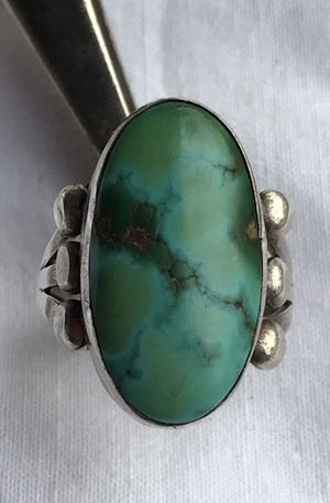 TURQUOISE & SILVER RING for Sale in Clovis, CA