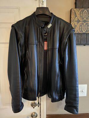 Leather, Willie G , Harley Davidson jacket for Sale in Duluth, GA