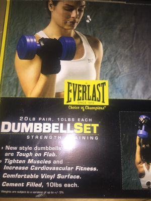 Dumbbells workout set: Arm Weights! for Sale in Chicago, IL