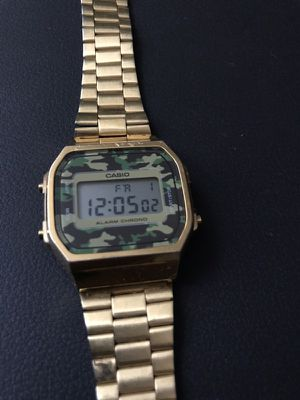 Gold Casio watch for Sale in Tempe, AZ