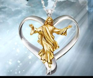 Yellow Gold Filled Jesus Necklace for Sale in Denver, CO