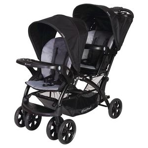 Baby trend double stroller purple sot and stand for Sale in Redmond, WA