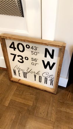 Wood Wall Decor for Sale in Scarsdale,  NY
