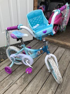 Anna Elsa toddler bike for Sale in Framingham, MA