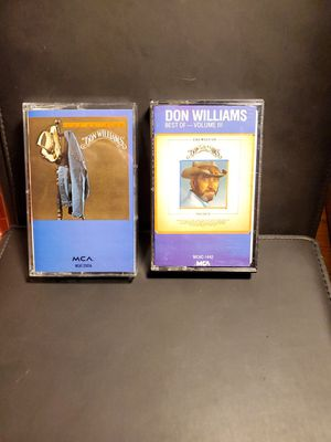 Don Williams: The Best of Don Williams #2 # Cassette Tape lot country music VTG for Sale in Dallas, TX