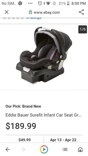 Eddy Bowers care seat for Sale in Reno, NV