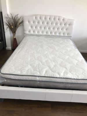 BRAND NEW PILLOW TOP MATTRESSES💯 COLCHONES NUEVOS PILLOW TOP 💯 Queen $120 ❌ $180 With Box Spring 💥💥 FULL SIZE $100 ❌ $150 With Box Spring💥 Twin $8 for Sale in Manhattan Beach, CA