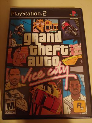 Grand Theft Auto: Vice City (PS2) for Sale in Cleveland, OH