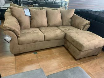 🍒$39 Down 🍒 Best OFFER. SPECIAL] Darcy Mocha Sofa Chaise byAshley for Sale in Laurel,  MD