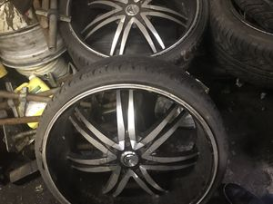 "BENTCHI wheels 22""-24"" for Sale in Washington, DC"