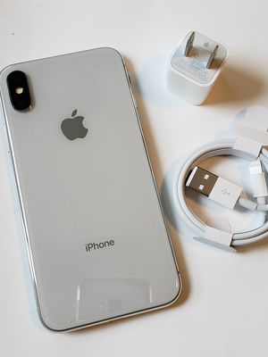 iPhone X, 256GB Factory Unlocked, Excellent Condition..As like New. for Sale in Springfield, VA