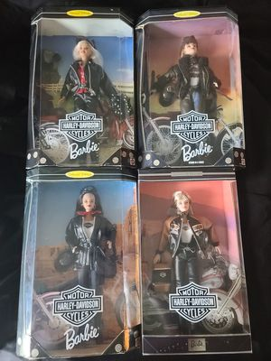 Harley davidson barbie collection 1-4 for Sale in Cape Coral, FL