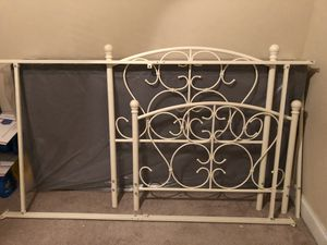 Twin bed frame and box spring only! for Sale in Montgomery, AL