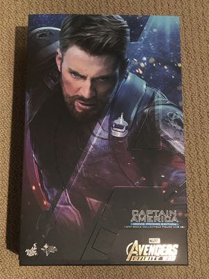 Hot Toys Captain America 1/6 Scale Figure (Avengers: Infinity War) for Sale in San Ramon, CA