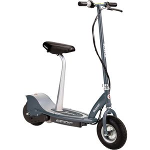 Razor E300S Electric Powered Seated Scooter Gray- Ages 13+ for Sale in Lemont, IL