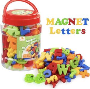 Magnet Letters Including numbers and match signs-78pcs for Sale in West Covina, CA