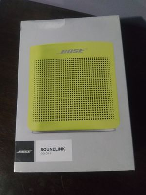 New Bose SoundLink Color II Portable Speaker Yellow Citron for Sale in Norwalk, CA