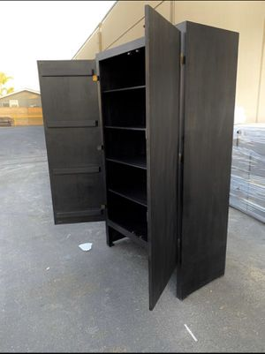Closet with Shelves. Brand New! Made out of Solid Pine Wood. Made to order. for Sale in Los Angeles, CA