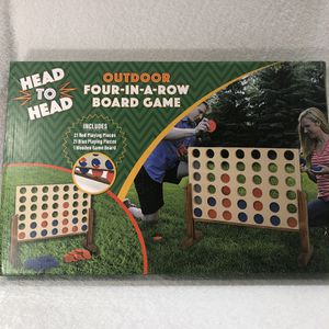 Yard Games Giant 4 Connect in a Row for Sale in Pompano Beach, FL