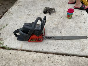 "Craftsman 18"" chainsaw for Sale in San Antonio, TX"