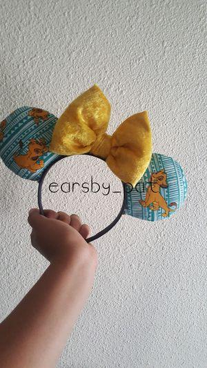 Simba disney ears for Sale in Huntington Park, CA